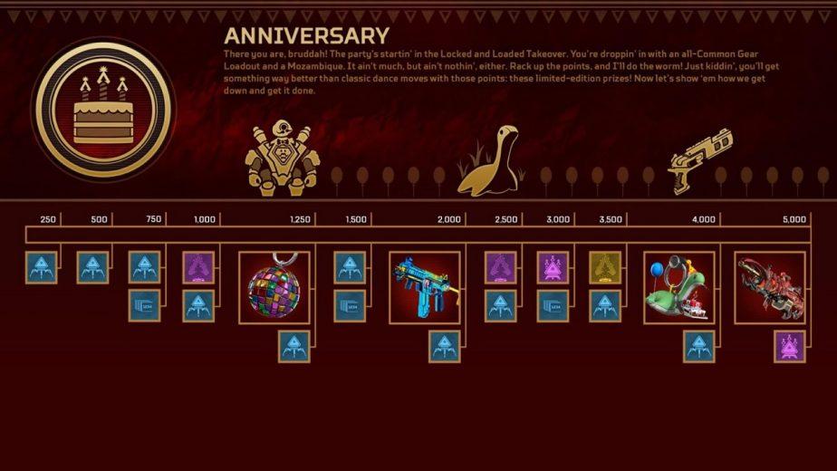 Apex Legends Anniversary Celebration Event Last Chance