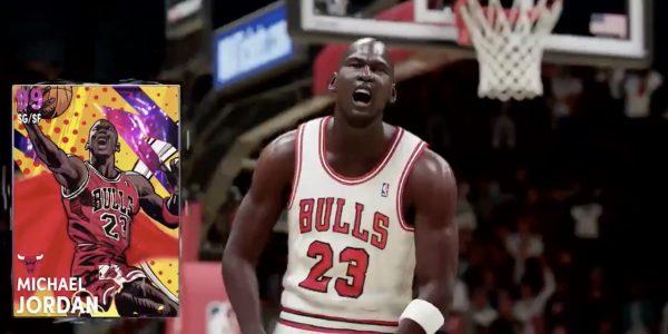 Dark Matters NBA 2K21 Heroes cards arrive for Michael Jordan Zion Williamson
