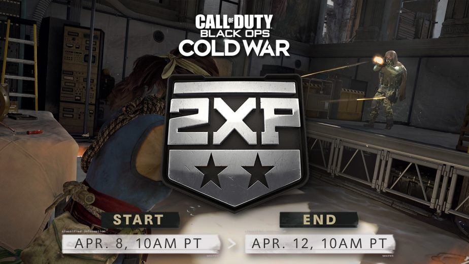 Call of Duty Black Ops Cold War Double XP Weekend This Week 2
