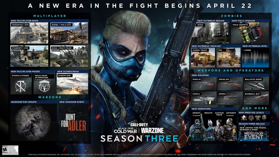 Call of Duty Black Ops Cold War Season Three Now Live 2
