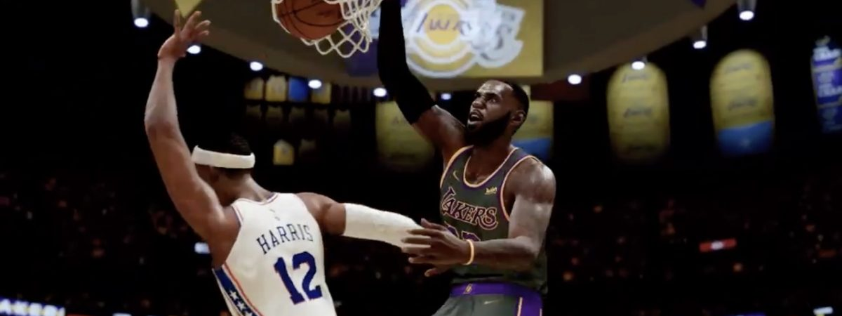 NBA 2K21 hypes fans for NBA Play In Tournament Games
