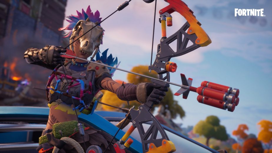 Bows are no longer available in Fortnite Battle Royale