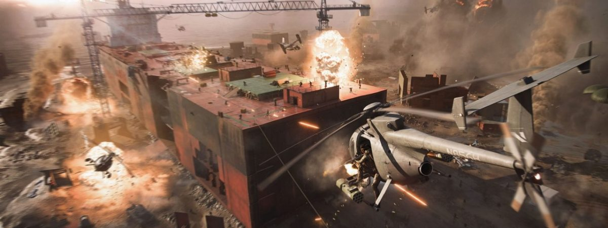 Battlefield 2042 Officially Announced by DICE