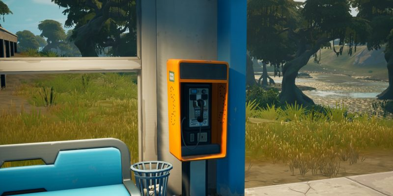 Payphones are a quick way of making Gold Bars in Fortnite Season 7.