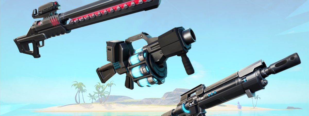 Fortnite new weapons in Season 7