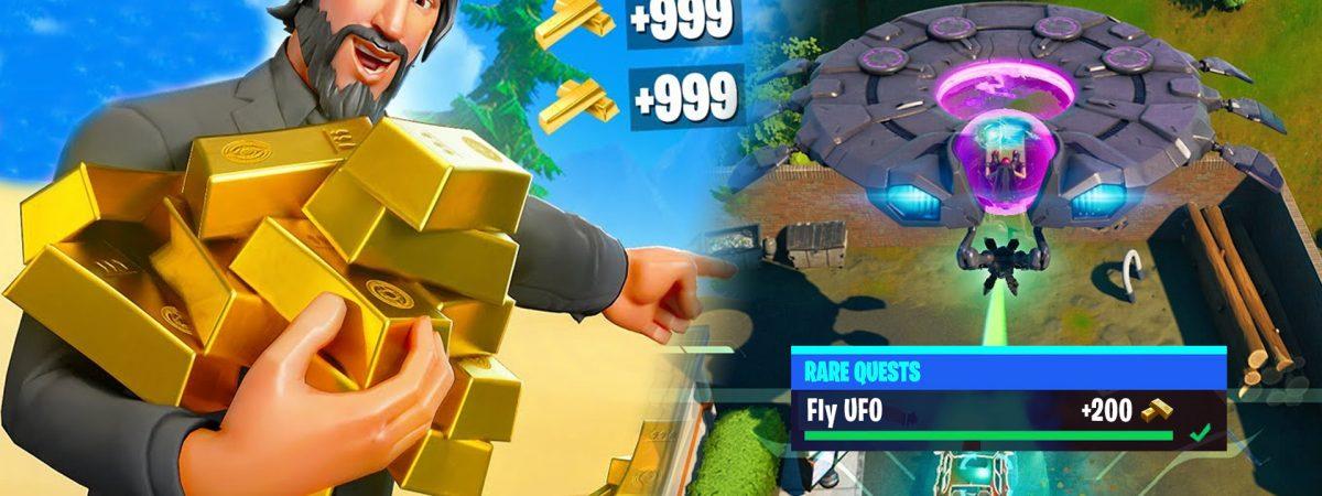 Fortnite Gold Bars guide