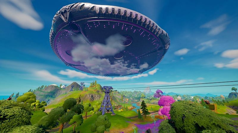 The Mothership will play a big role in the next Fortnite update.