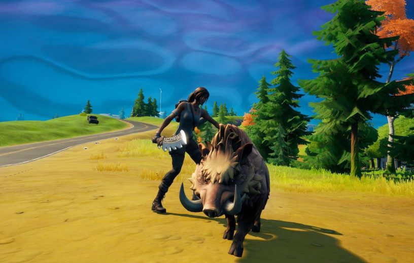 Fortnite rideable animals may come to the game soon.