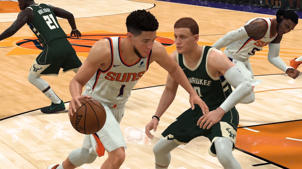 Nba 2k22 Cover Star Could Bucks Vs Suns Finals Matchup Include Featured Athlete
