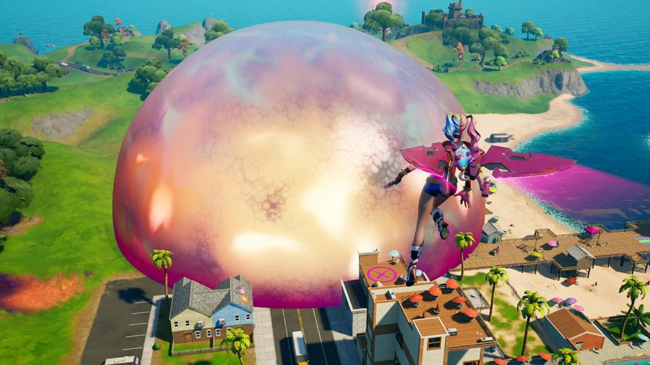 Fortnite Season 8 has brought the Sideways area where players can fight cube monsters.