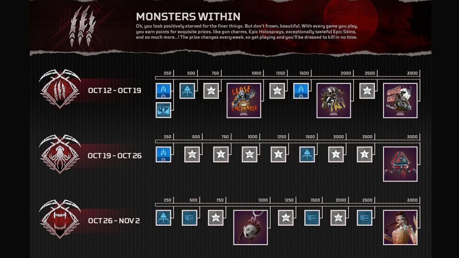 Apex Legends Monsters Within Event Now Live 2