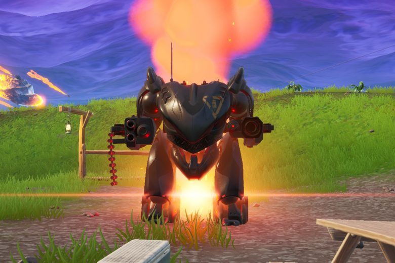 B.R.U.T.E. mechs are currently not available in the battle royale mode.