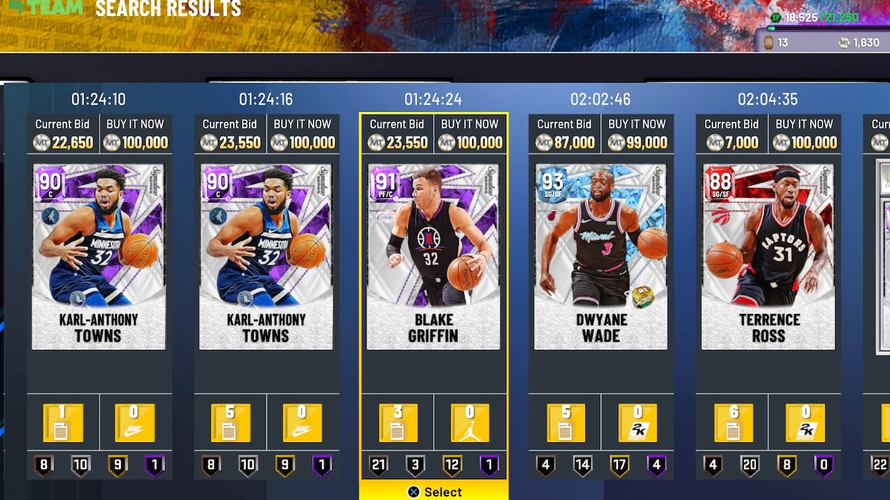 how to get nba 2k22 myteam through mt auction house sales