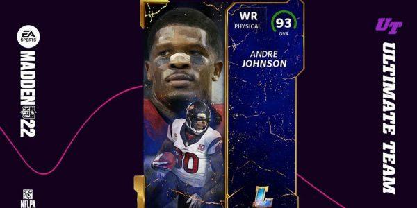 Madden 22 Ultimate Team Cards Legends Release 9 Andre Johnson