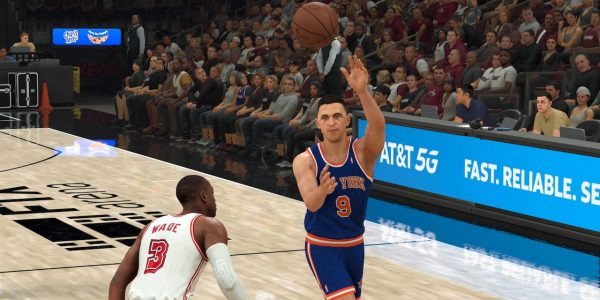 NBA 2K22 Passing: How to Throw an Alley Oop Pass