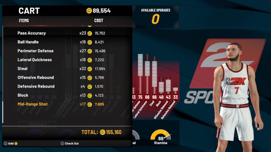 nba 2k22 vc for myplayer upgrades